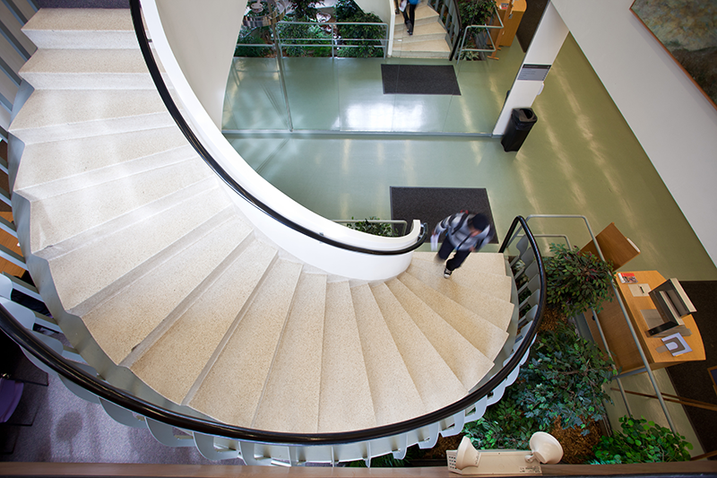 Swirbul Library staircase
